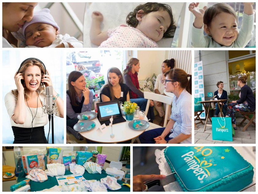 Pampers Blogger Café in Berlin (Fotos: Pampers)