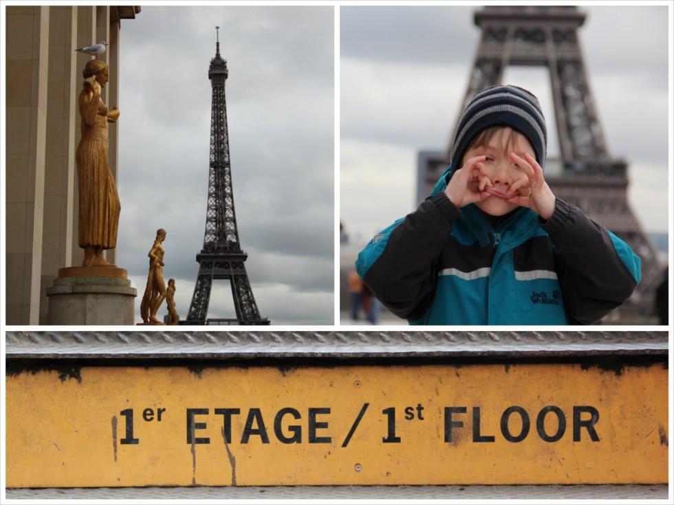 Paris mit Kindern entdecken: Kind 1.0 bestimmte den Ausgangspunkt unserer Entdeckungstour