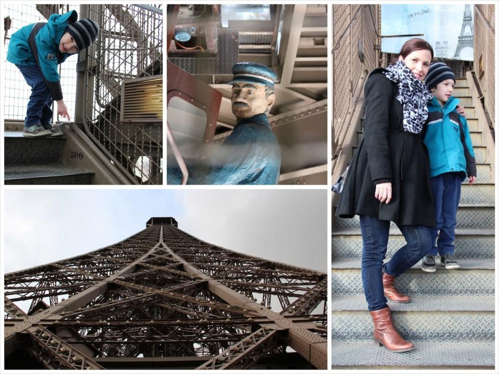 Paris mit Kindern entdecken geht nicht ohne den Eiffelturm
