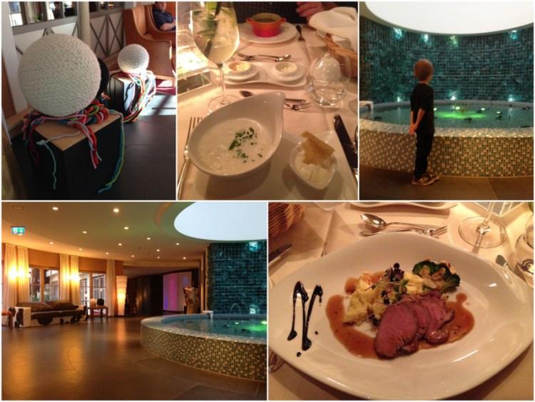 Leading Family Hotel & Resort Alpenrose: Köstliches, Nasses und Gefilztes...