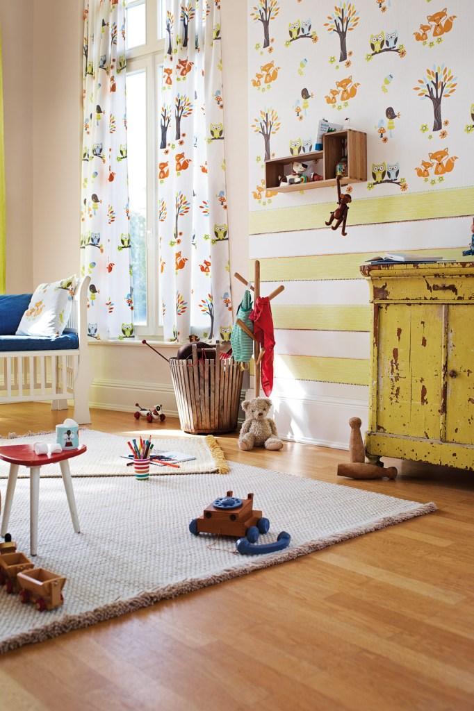Eulen Und Füchse Im Kinderzimmer