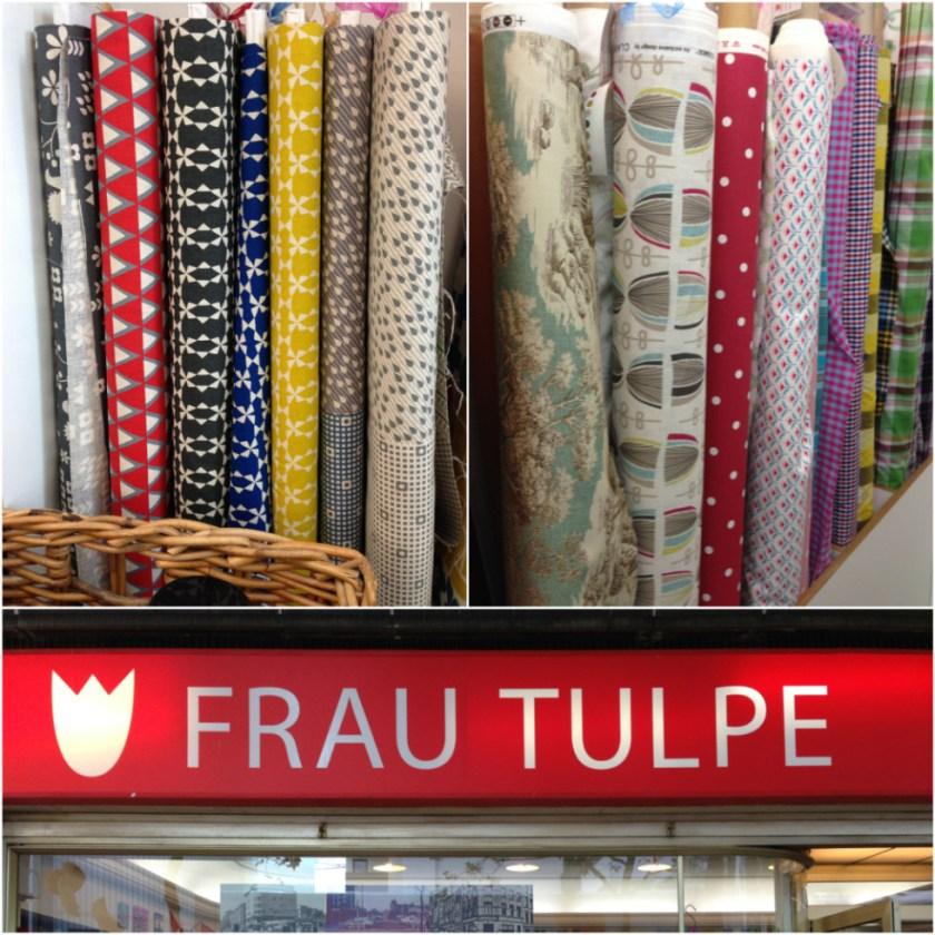 Unterwegs mit Baby in Hamburg Altona: Stoffladen Frau Tulpe