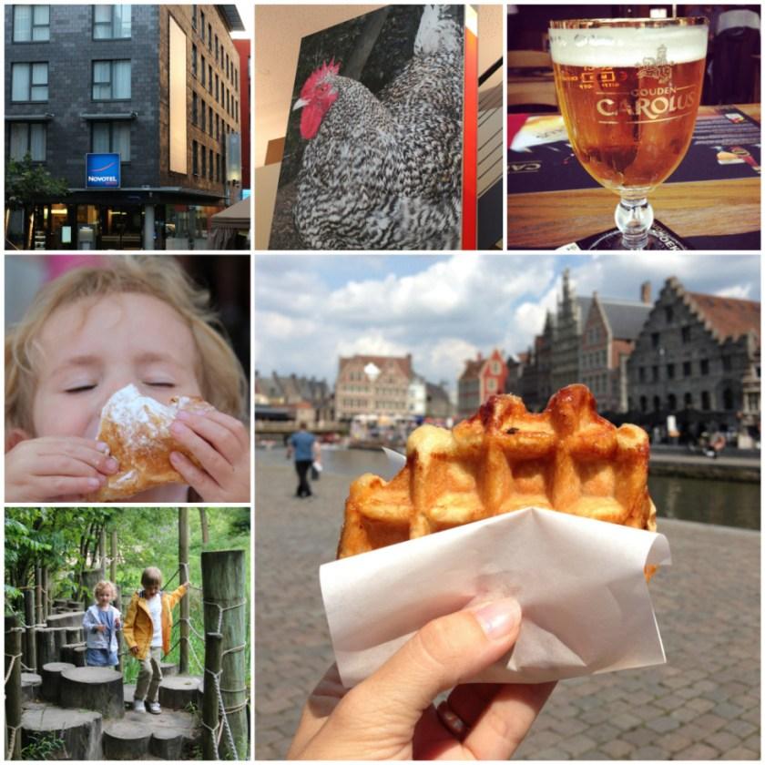 Was noch kommt: Essen in Mechelen, viel Vergnügen im Tierpark und ein Ausflug nach Gent