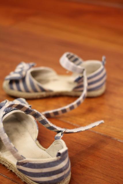 Schuhe aus!
