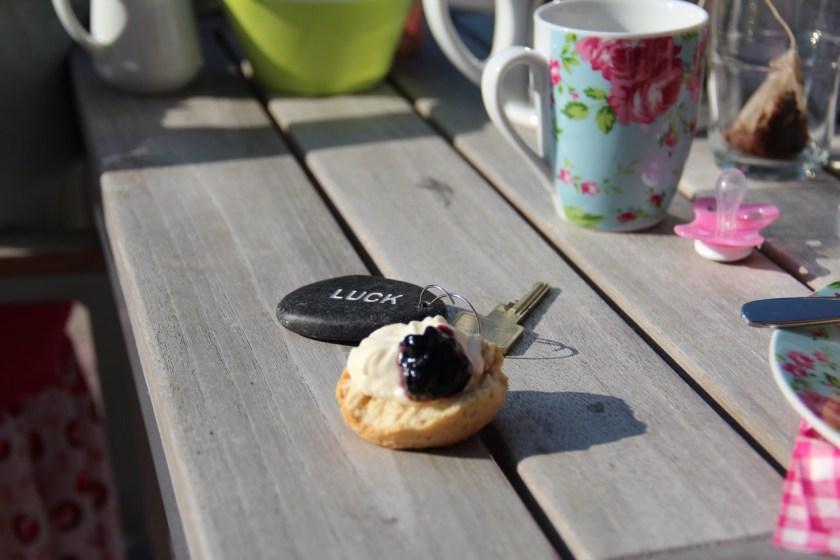 Der Schlüssel zum Glück bei der Teatime