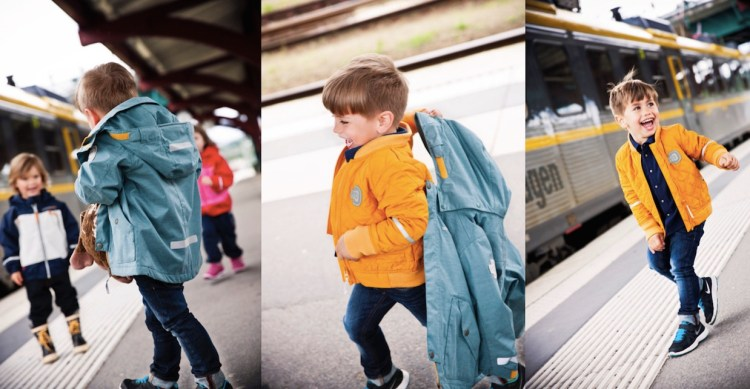 Didriksons Kindermode Frühjahrs- und Sommerkollektion