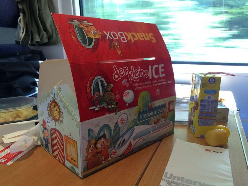 Überraschung für Kind 2.0 im ICE nach Berlin