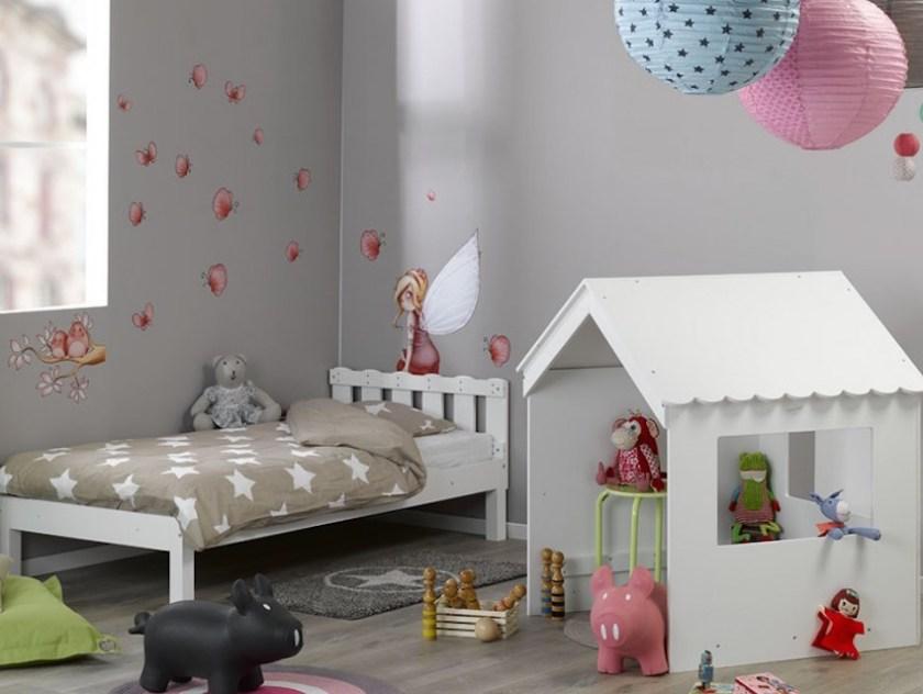 Weißes Hüttenbett Swam von Monpetit Kinderzimmer (www.monpetit-kinderzimmer.de)