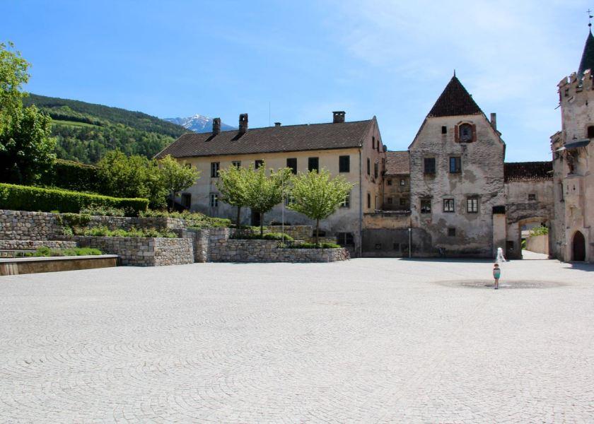 Herrliche Ruhe im Kloster Neustift