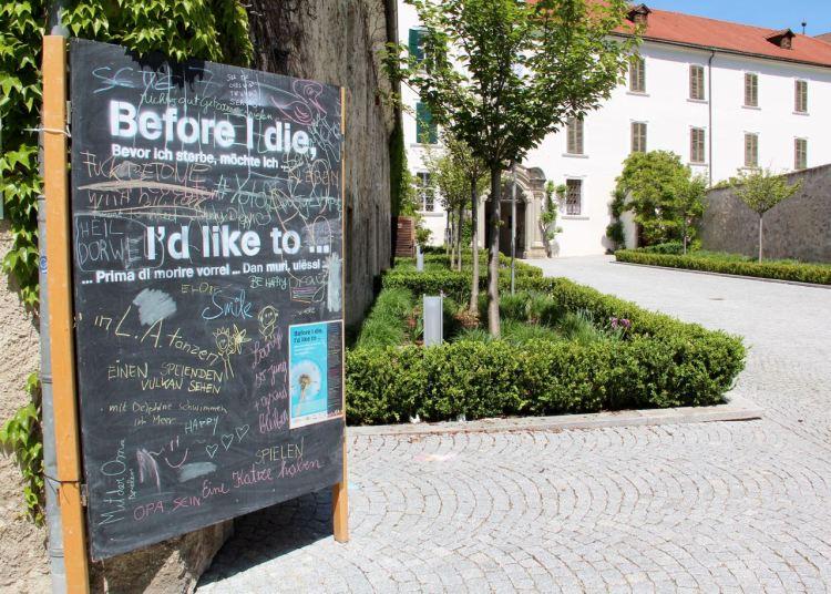 Kloster interaktiv: Was möchtet ihr noch tun, bevor ihr sterbt?