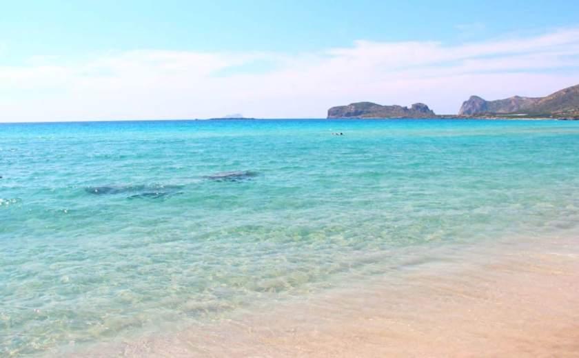 Kristallklar und wunderschön ist der Strand von Falasarna