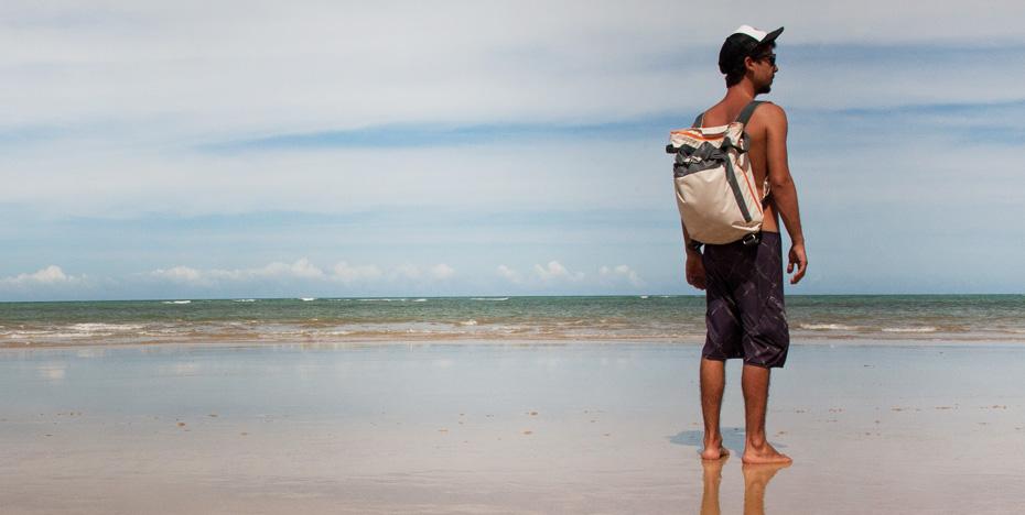 Das ist die Verwendung für den TANE KOPU Strandrucksack., wie Terra Nation es eigentlich vorgesehen hat.