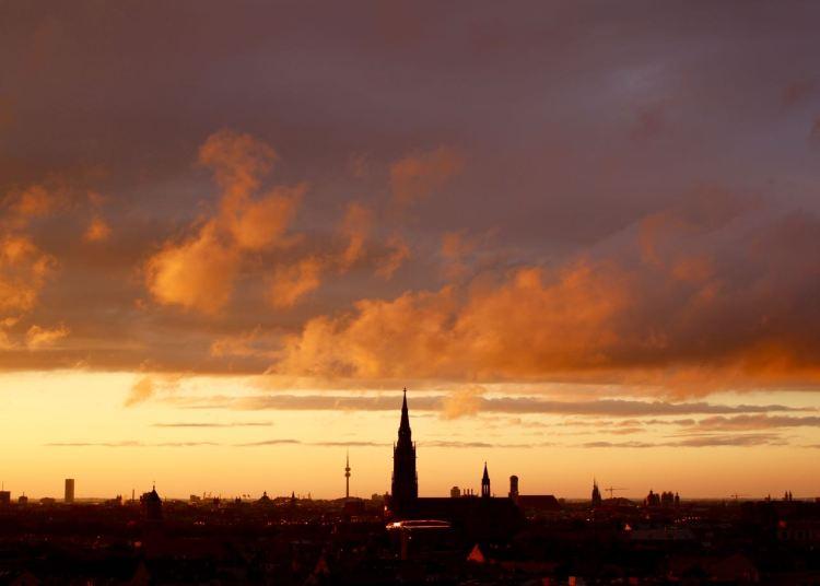 Hallo München, wie bist du schön!