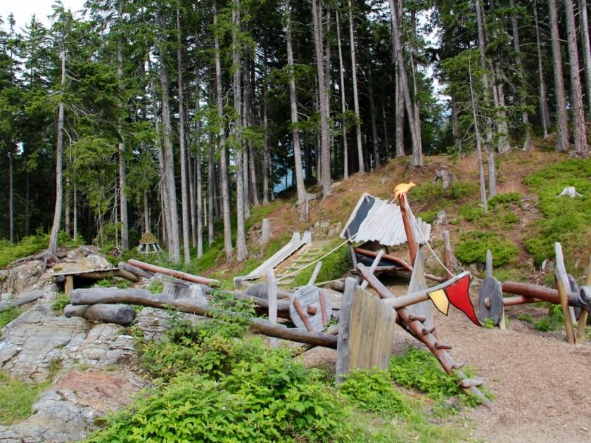 Tirol barrierefrei: Der Abenteuerspielplatz beim Naturparkhaus Kaunergrat. www.berlinfreckles.de