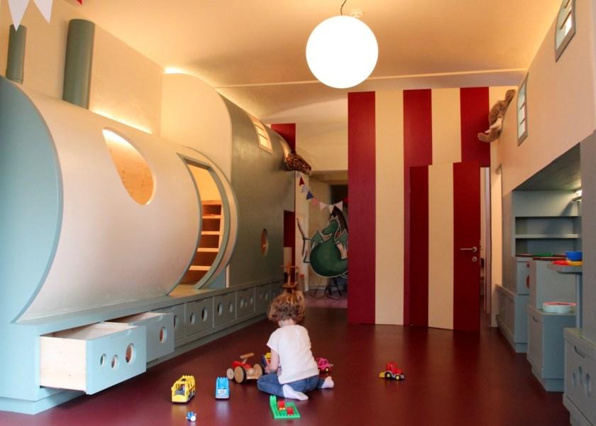 Parkhotel Holzner in Südtirol : Das Spielzimmer für Kinder