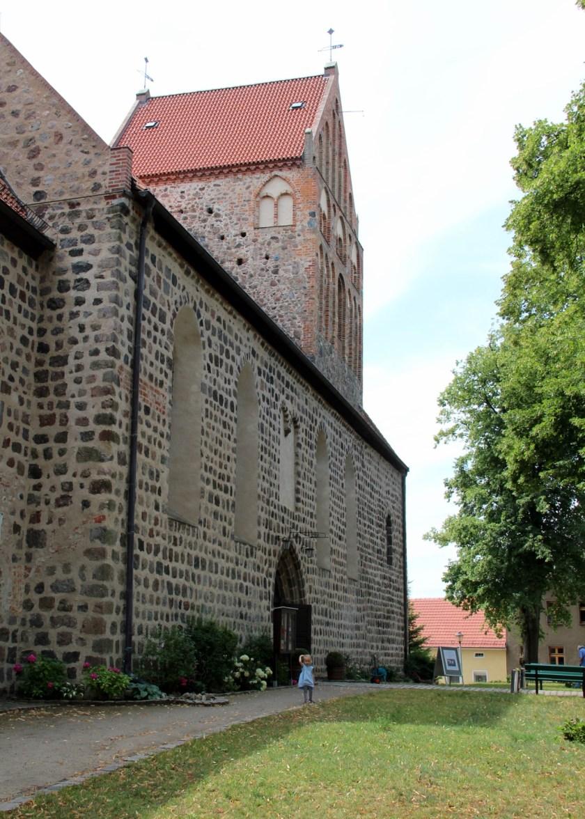 Die Feldsteinkirche in Lychen St. Johannes.