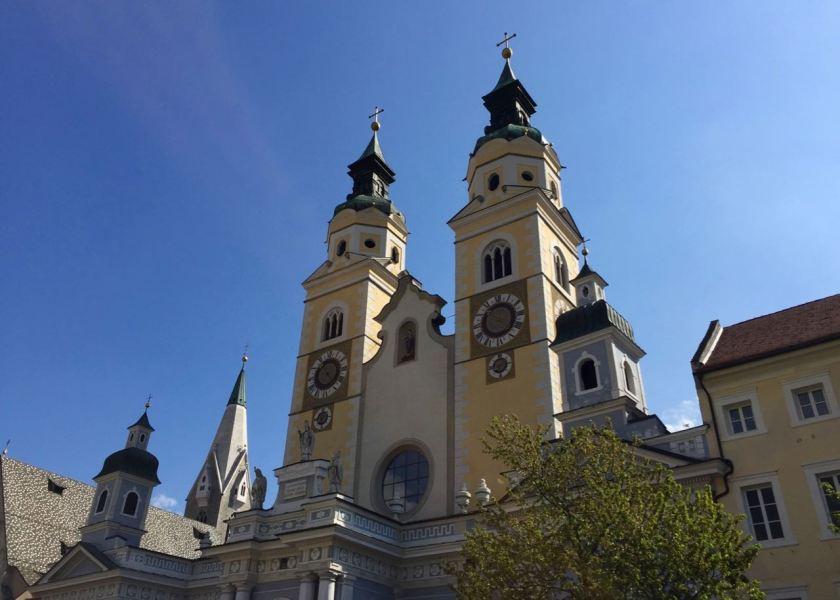 Der Dom in Brixen, Südtirol. Unbedingt eine Abfahrt von der Autobahn wert.