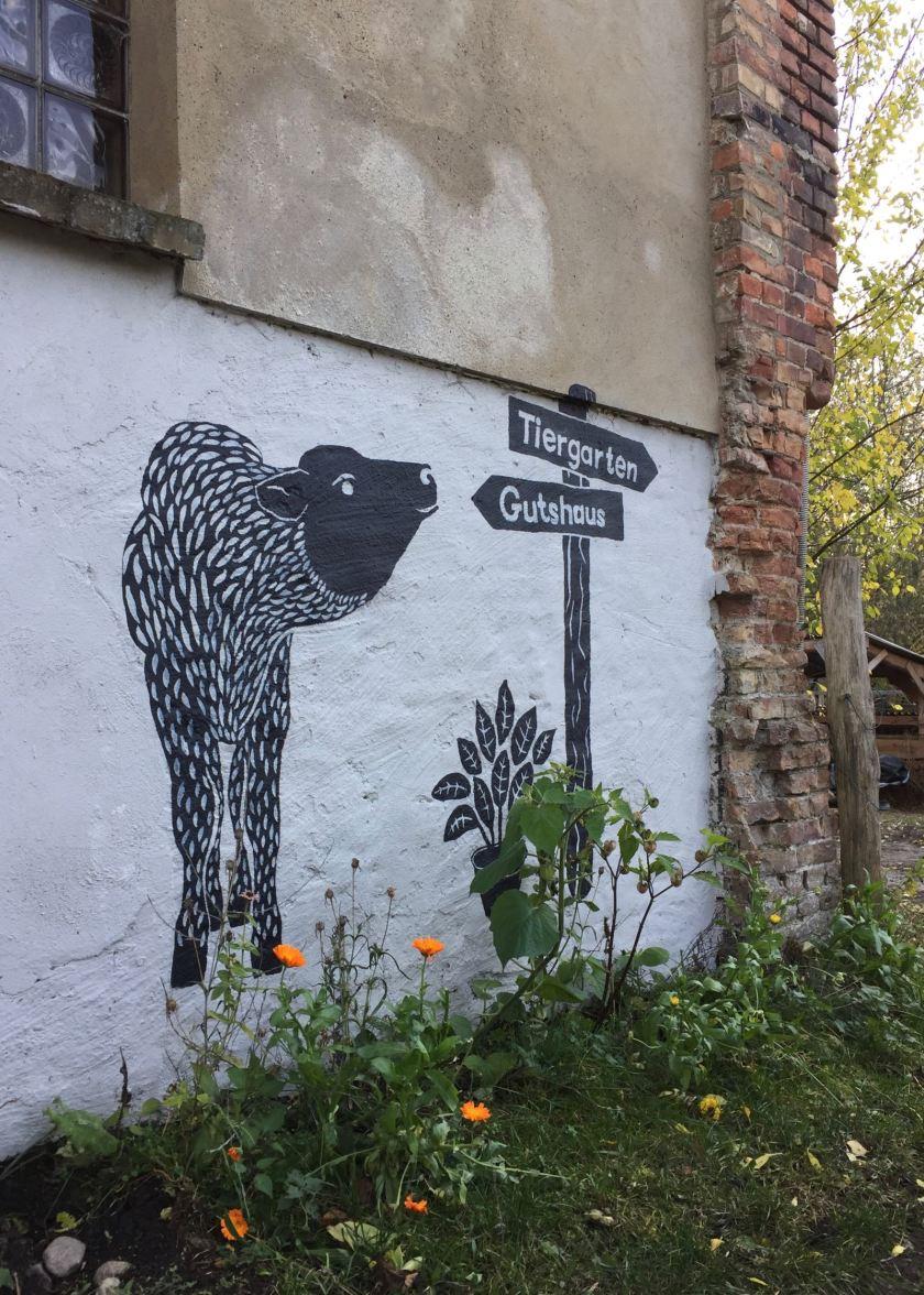 Zum Gut Boltenhof gehören jede Menge Tiere. Mithelfen ist ausdrücklich erwünscht.