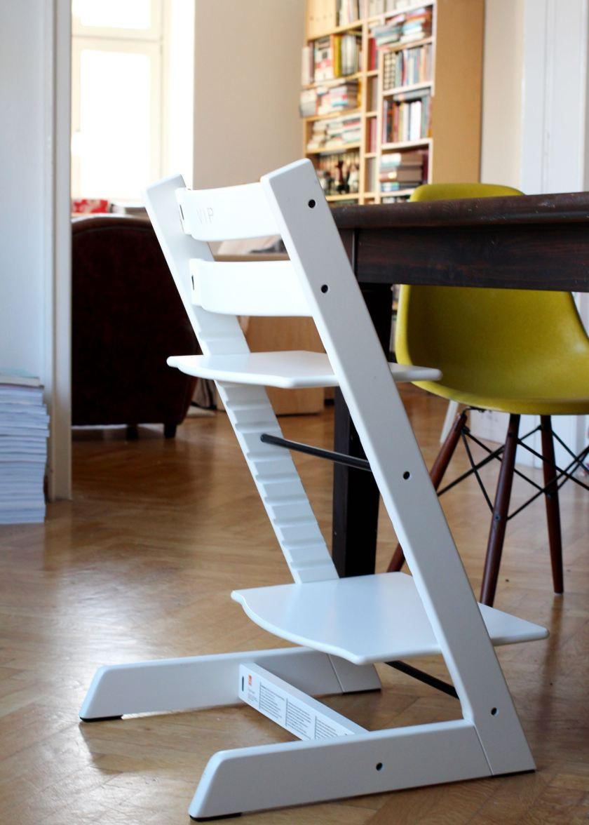Stokke Tripp Trapp Bürostuhl auf Zeit für Mama   BerlinFreckles