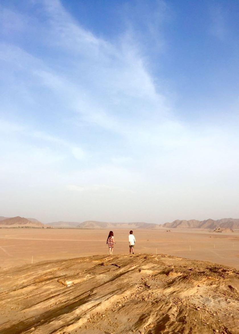 Das Wadi Rum in Jordanien kann man nicht beschrieben. Man muss es selbst erleben. Jordanien: Highlights und Impressionen von einer Rundreise mit Schulkind. Mehr dazu auf www.berlinfreckles.de