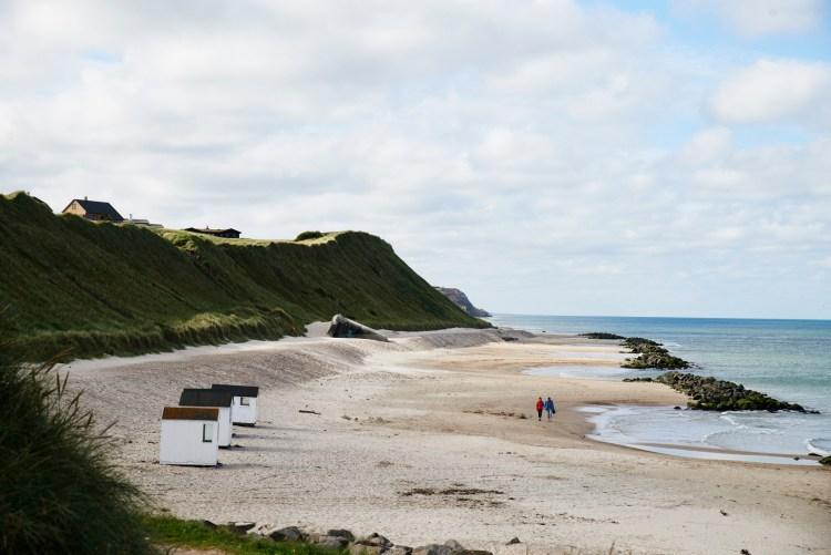 Dänemark, Nordseeküste: Strand bei Lønstrup