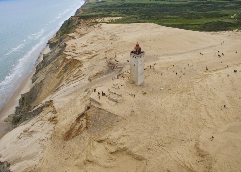 Dänemark, Nordjütland: Der versandete Leuchtturm Rubjerg Knude Fyr