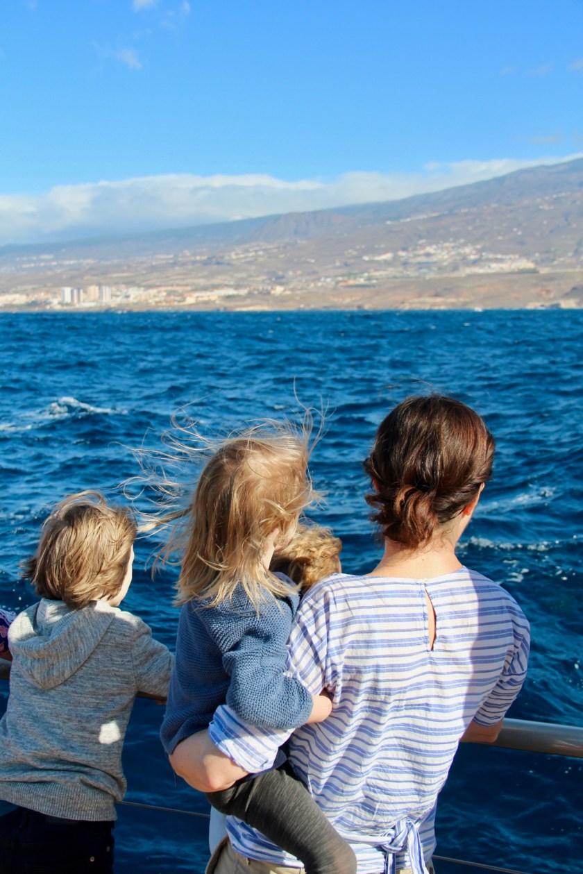 Teneriffa mit Kindern im Winter - Fahrt mit dem Freebird One Katamaran