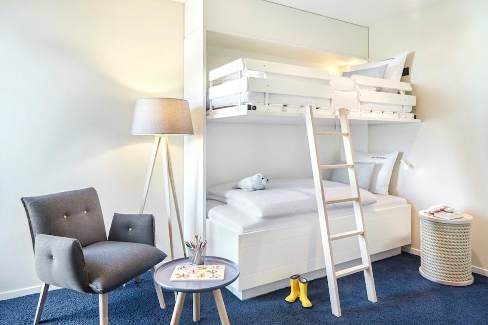 Familienfreundliche Zimmer im Hotel Küstenperle in Büsum