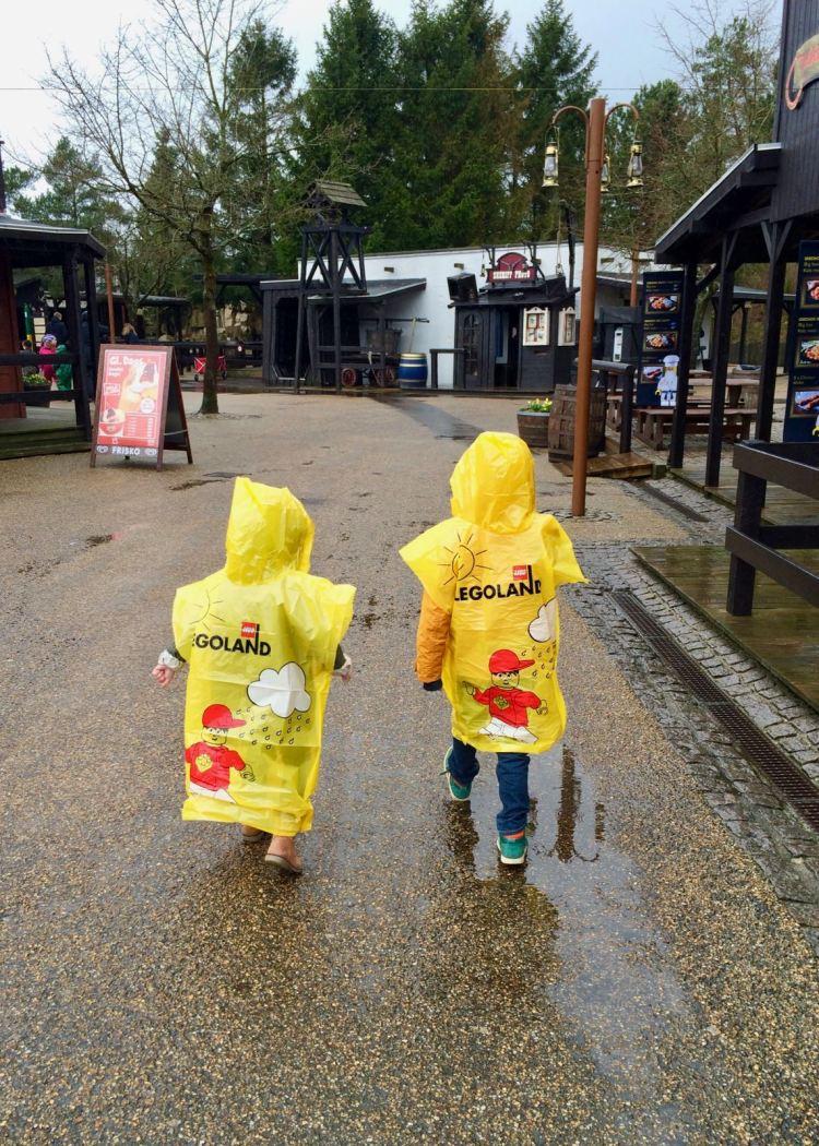 LEGOLAND Billund Resort zur Saisoneröffnung: Das Wetter im März kann launisch sein