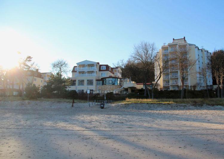 Travel Charme Strandhotel Bansin: Direkte Lage am Strand