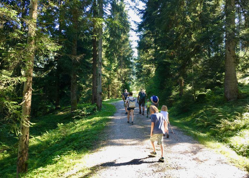 Urlaub mit anderen Familien: Eine geführte Familienwanderung im Tiroler Kaiserwinkl
