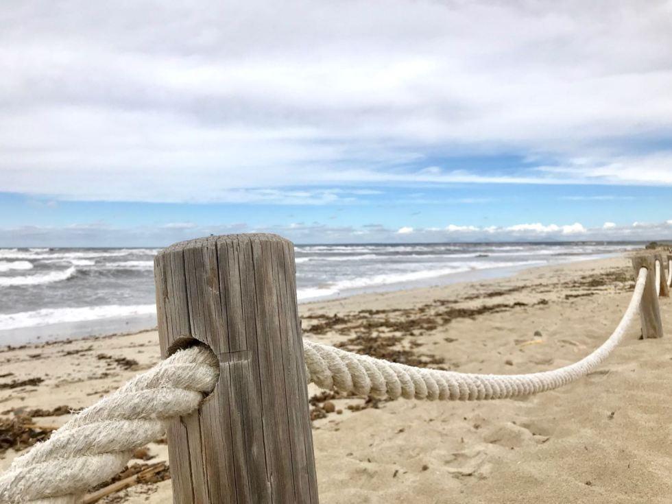 Stürmisch, aber schön zeigt sich der Playa Es Trenc an diesem Tag
