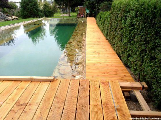 Bau Terrasse Steg