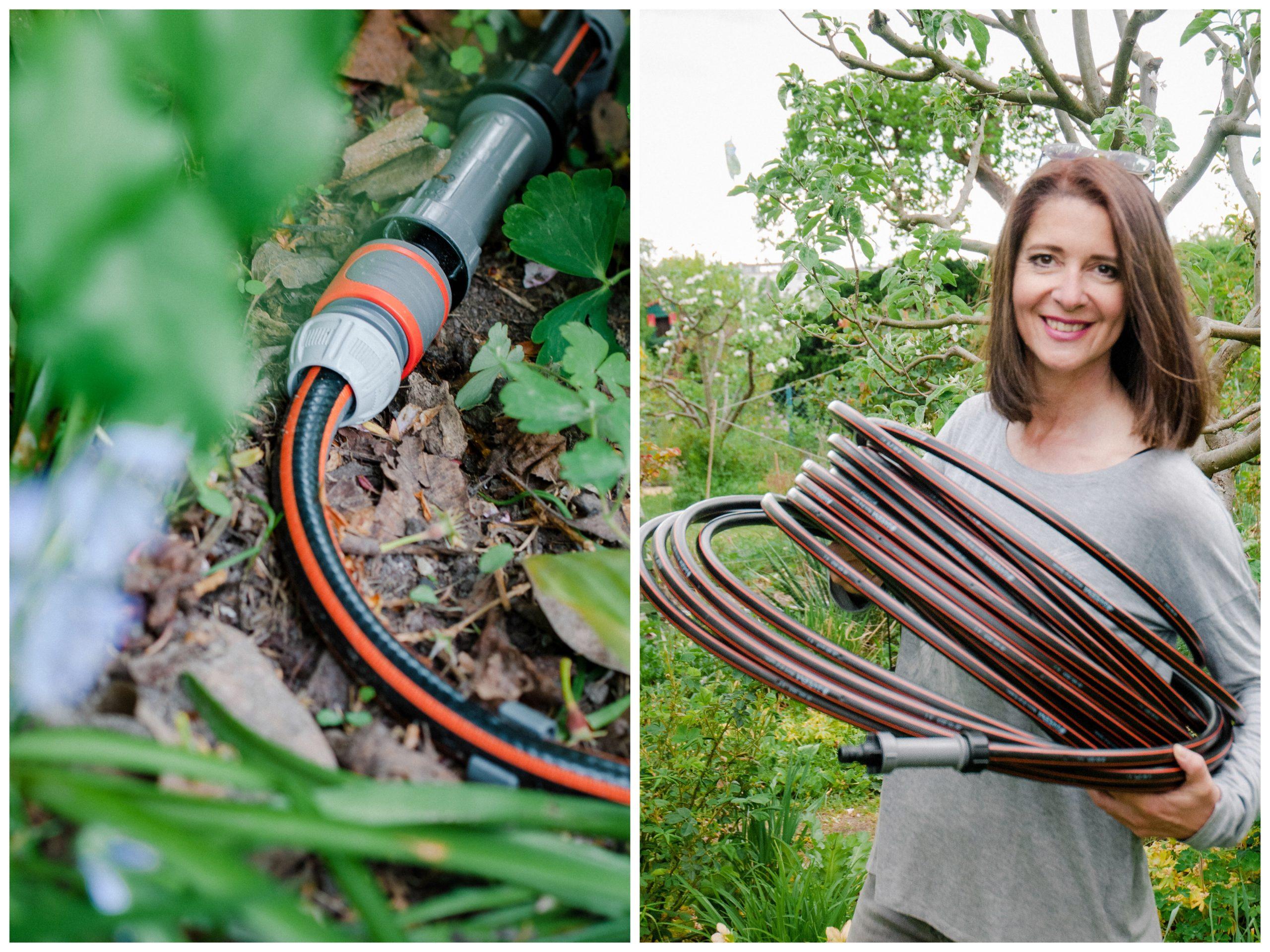 Tropfbewässerung Selbstpflanzenbewässerung 15M Gartenschlauch Sprinkleranlage