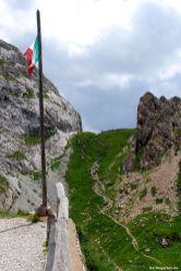 Bergrücken an Rücken - Österreich und Italien