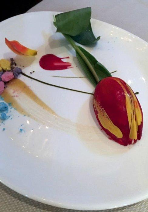 Blütenmenü