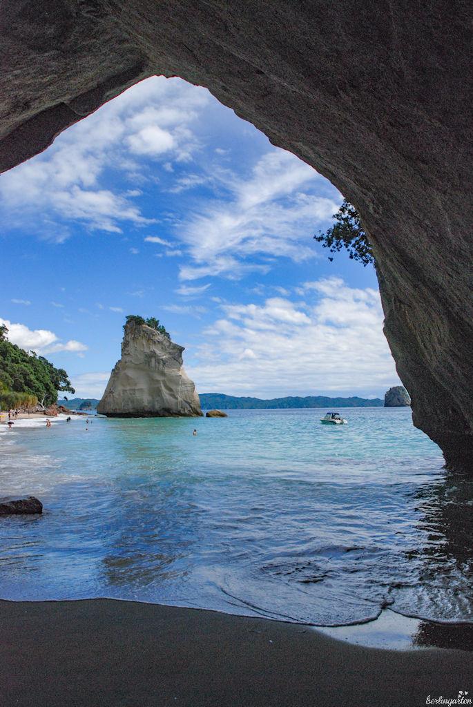Cathedral Cove: mein absoluter Traum eines Urlaubsparadieses. Wäre ich doch nur wieder dort...