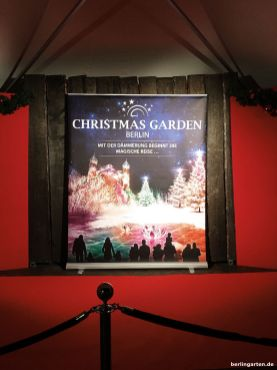Christmas Garden, Eröffnungsfeier