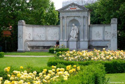 Das Grillparzer Denkmal