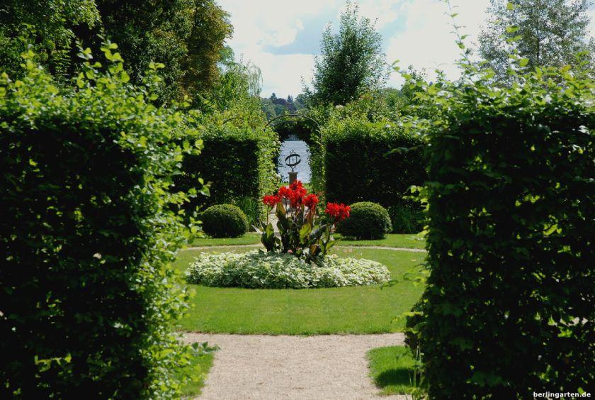 Durchblick Heckengarten Wannsee