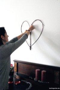 Herz dekorieren