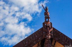 Die Kunst der aus Polynesien eingewanderten ersten Siedler, der Mauri, ist ausdrucksstark und hoch geschätzt