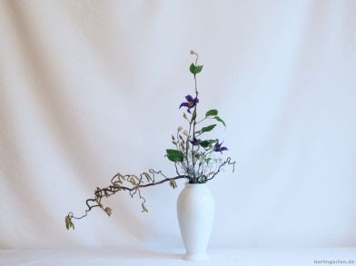 Mein Ikebana nach Korrektur