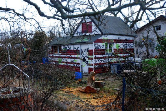 Rot-weißes Haus, nachher