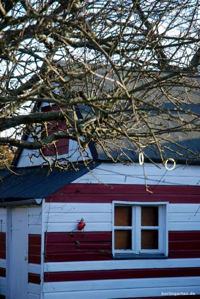 Rot-weißes Haus, vorher