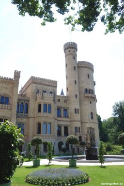 Terrasse Schloss Babelsberg