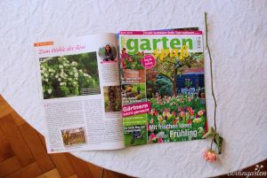 Titel Gartenspaß April