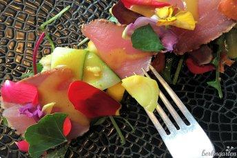 Tulpenzwiebel im Salat