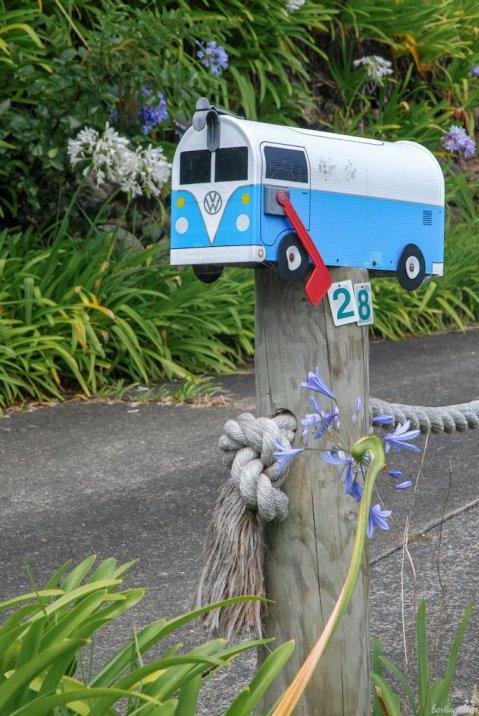 Den VW Bulli fand ich so süß, es passt zum NZ Lebensgefühl
