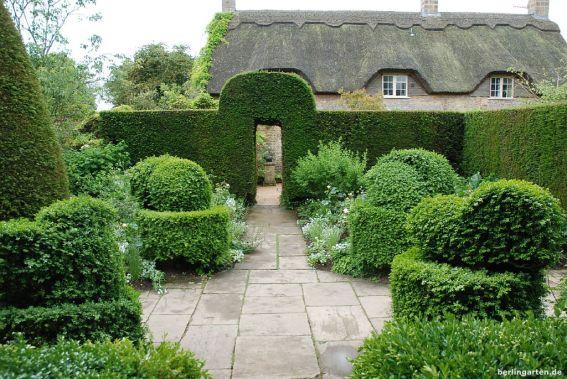 Vorbild für Sissinghurst - der weiße Garten